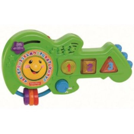 Fisher Price Jam & Learn Guitar by Fisher-Price