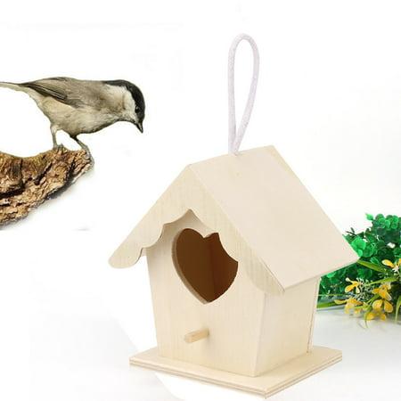 Mosunx Nest Dox Nest House Bird House Bird House Bird Box Bird Box Wooden Box