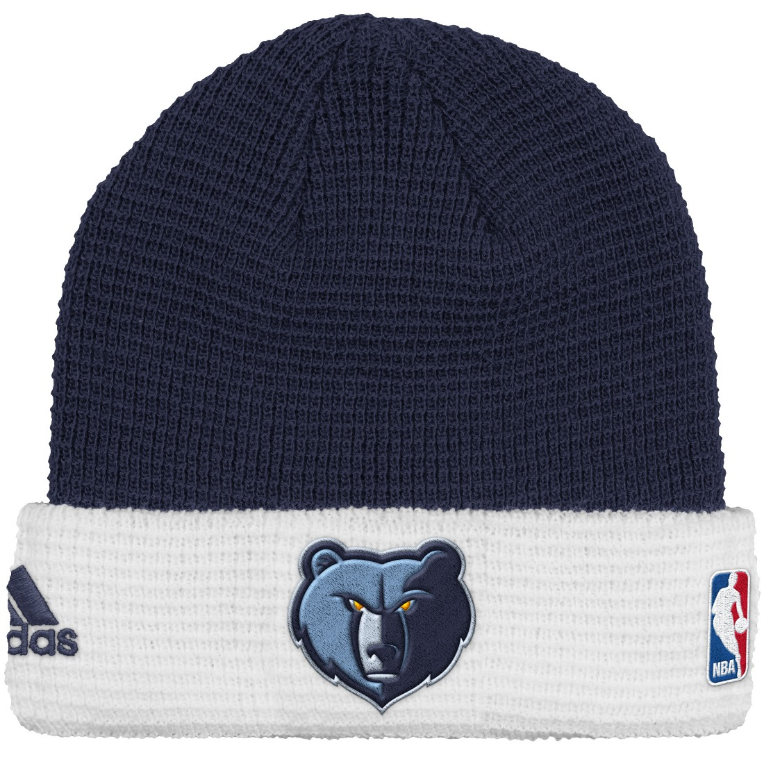 Memphis Grizzlies Adidas NBA 2015 Authentic Team Cuffed Knit Hat by Adidas