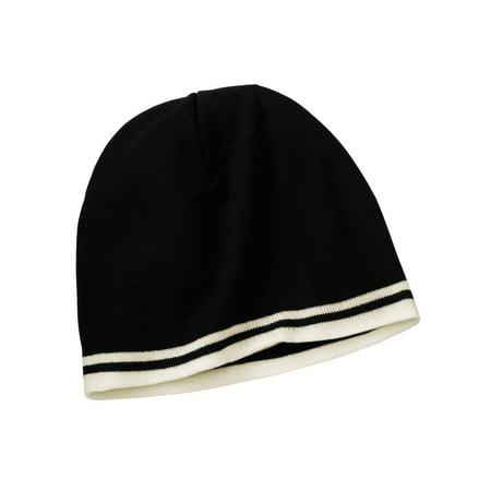 e85f1f61e14 TOP HEADWEAR - Top Headwear Fine Knit Skull Cap with Stripes - Walmart.com