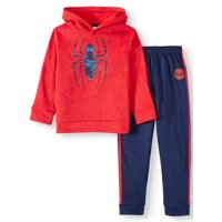 Marvel Spider-Man Fleece Hoodie and Jogger, 2-Piece Set (Little Boys)