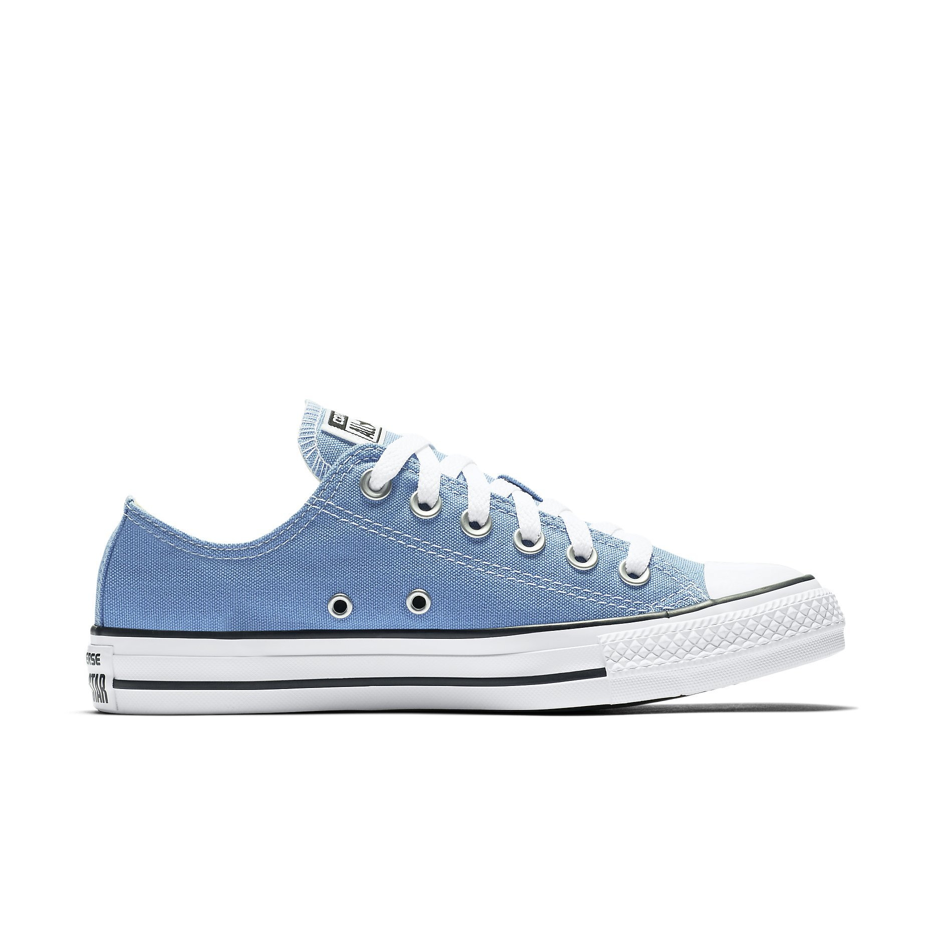Converse 157650F : Chuck Taylor Allstar Ox Unisex Pioneer Blue (Boy Girl Men 5.5 = Women 7.5) by Converse