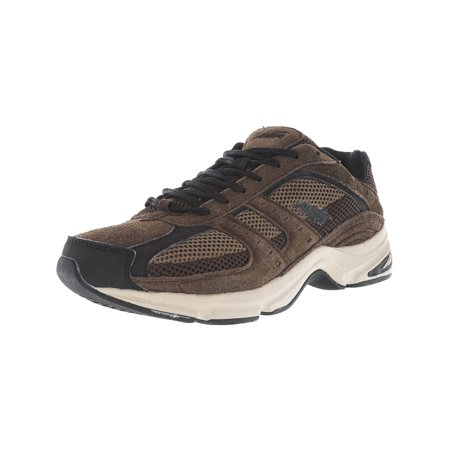 Avia Men's Avi-Volante Country Walnut / Chocolate Chip Black Stone Taupe Ankle-High Suede Walking Shoe - 7M ()