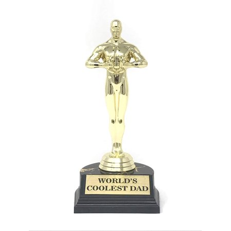 Aahs Engraving World's Best Award Trophy (World's Coolest Dad (7 (Dad's Trophy)