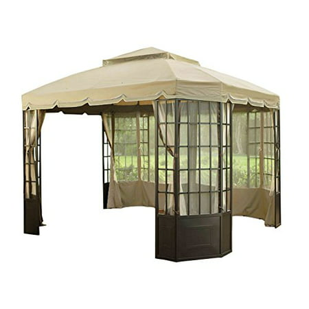 Garden Winds Replacement Canopy Top For The Bay Window Gazebo Sold At Sears And Kmart
