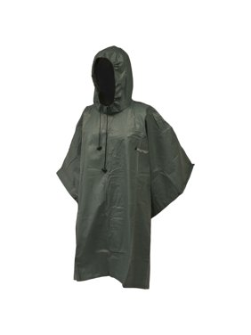 Frogg Toggs Adult Poncho - Green One Size