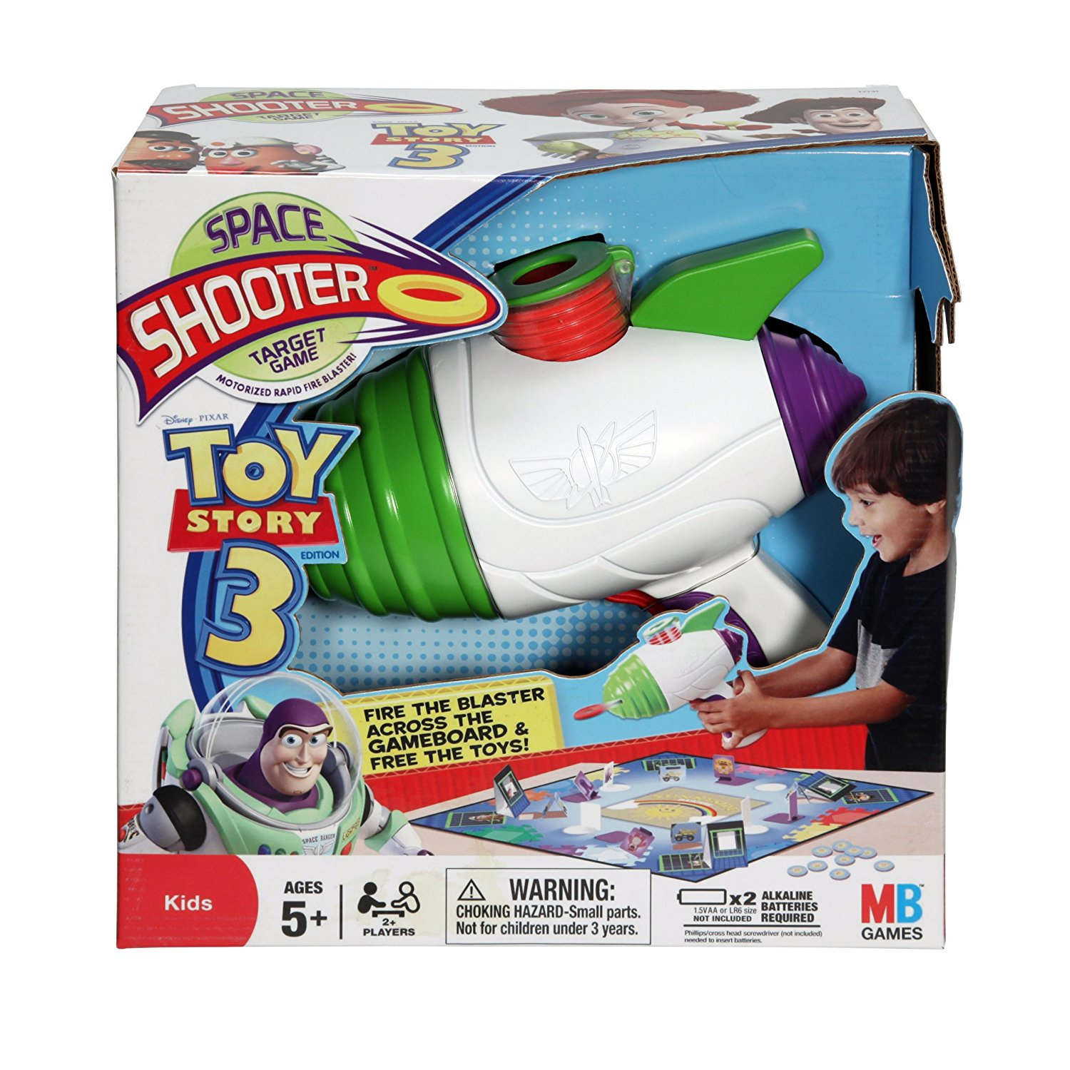 Toy Story 3 Space Shooter Target Game