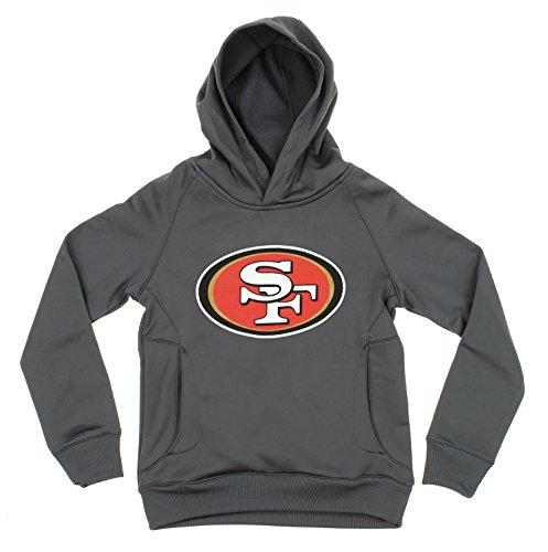 OuterStuff NFL Youth Boys San Francisco 49ers Logo Performance Sweatshirt Hoodie