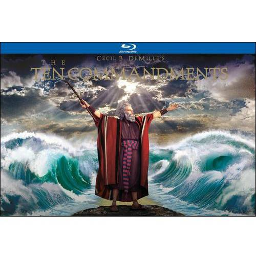 Paramount The Ten Commandments (Ultimate Collectors Edition) (Blu-ray + DVD)