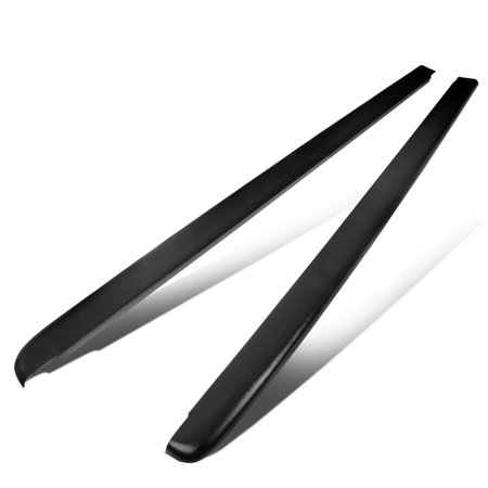 For 1997 to 2004 Dakota 6.5Ft Fleetside Short Bed Side Rail Molding Caps (Pair) 03 02 01 00 99 98