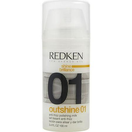 REDKEN by Redken - OUTSHINE 01 ANTI-FRIZZ POLISHING MILK 3.4 OZ (PACKAGING MAY VARY) - UNISEX