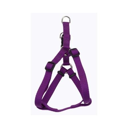 Tuff Collar Comfort Wrap Nylon Adjustable Harness - Purple X-Small (Girth Size 12-18)