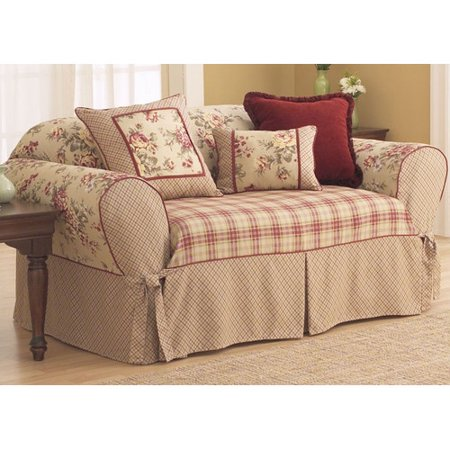 Sure Fit Lexington T Cushion Sofa Slipcover