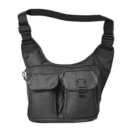 Explorer Tactical Concealed Carry Cross Body Shoulder Messenger - Tactical Shoulder Bag