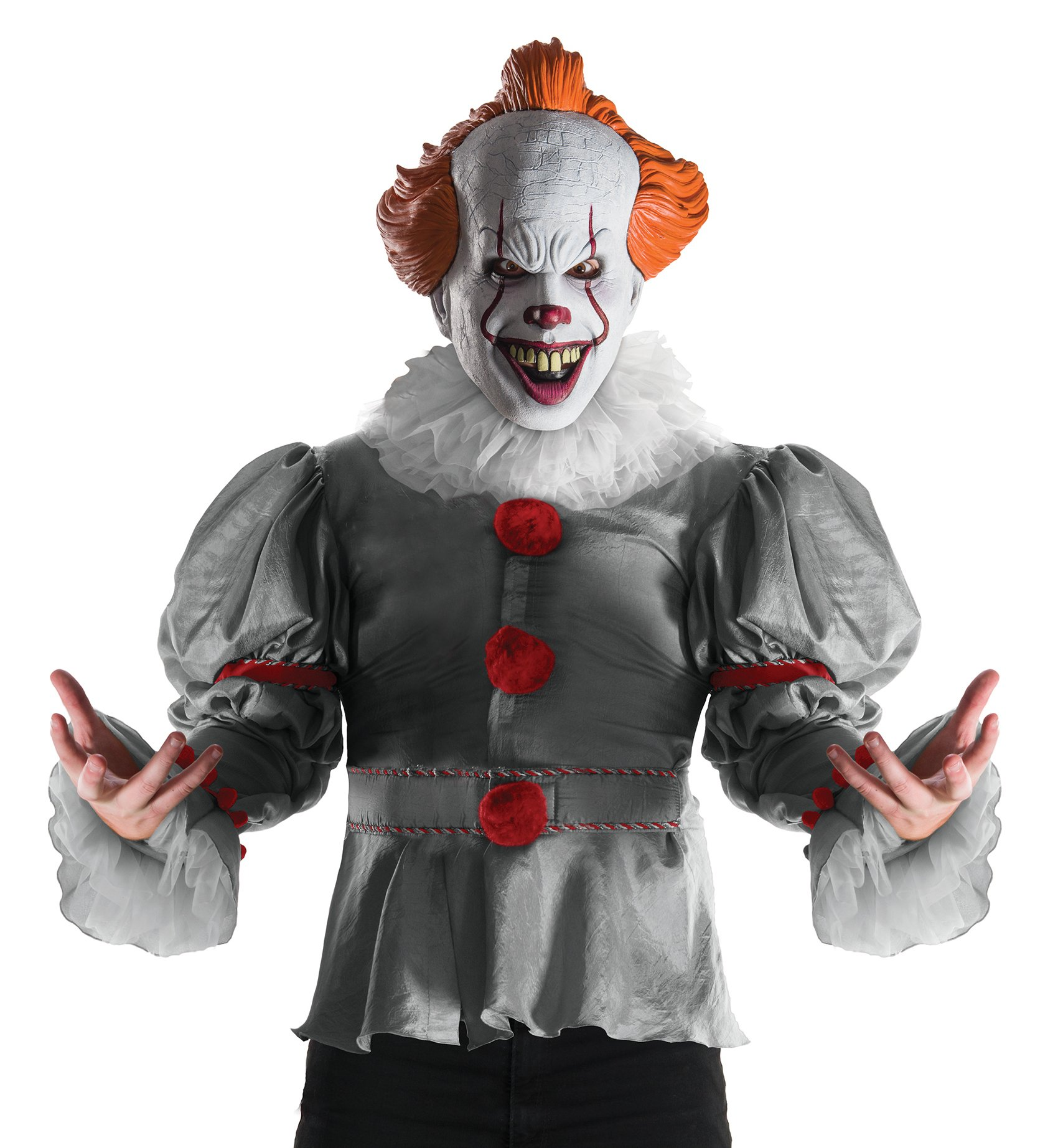 Rubies IT Mens Deluxe IT The Clown Costume
