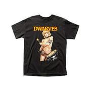 Dwarves- Drummer Girl Apparel T-Shirt - Black