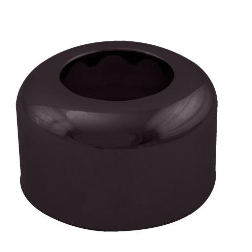 WestBrass D409 Oil Rubbed Bronze 1-1/2 in. OD High Box Sure Grip Flange