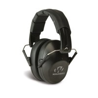 WALKERS GAME EAR PRO LOW PROFILE FOLDING MUFF EARMUFF 31 DB BLACK