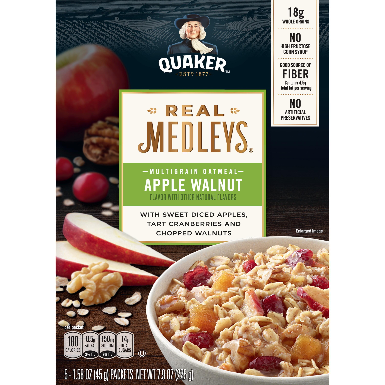 Quaker Real Medleys, Multigrain Instant