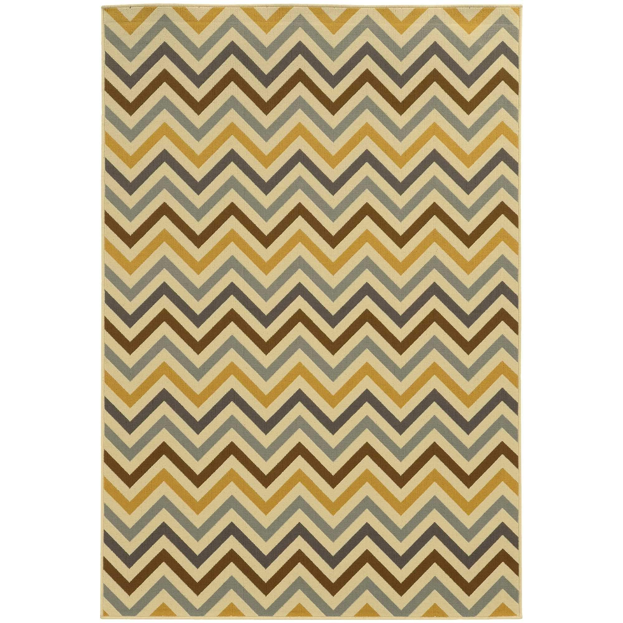 "Style Haven StyleHaven Indoor/ Outdoor Chevron Rug (2'5 x 4'5) - 2'5"" x 4'5"""