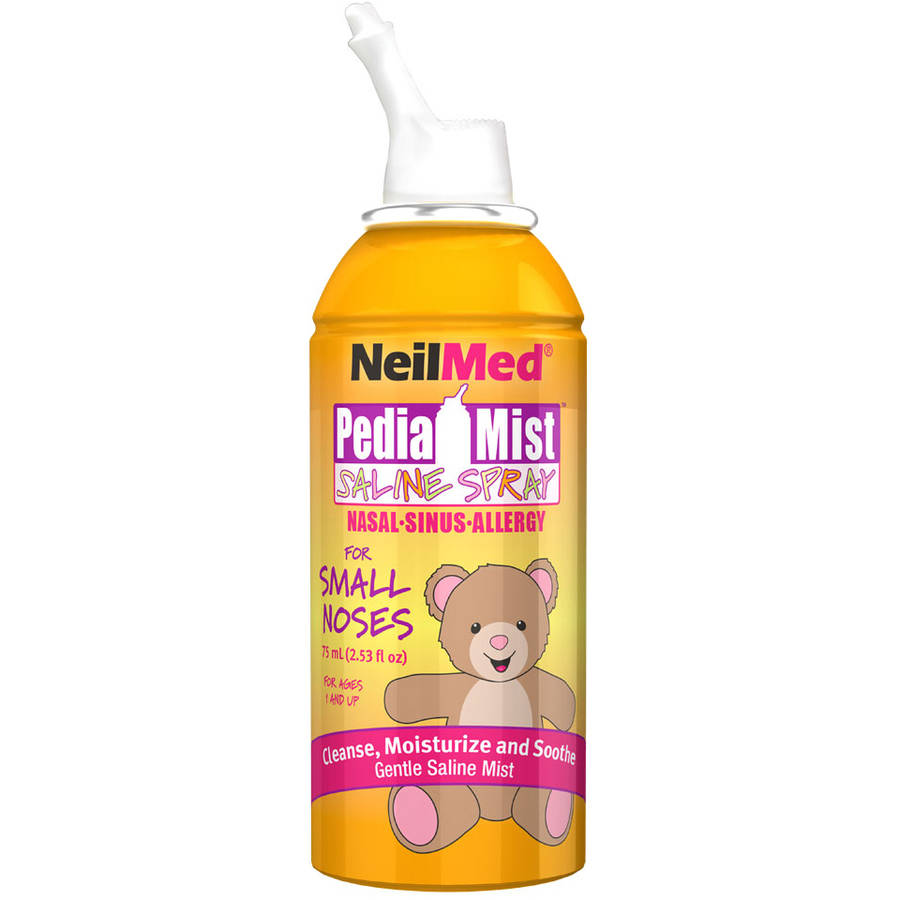 Neil Med Pedia Mist Saline Spray, 2.53 fl oz