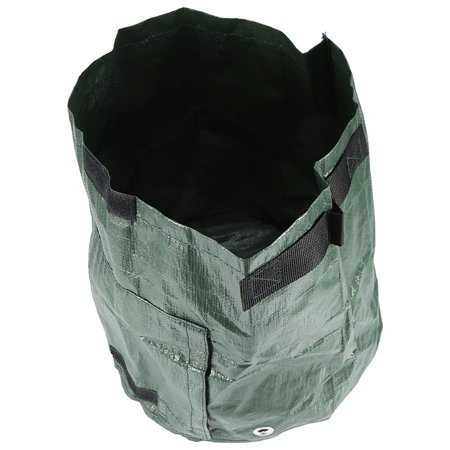 Qiilu 1Pc Potato Grow Planter PE Planting Container Bag Outdoor Garden with Side Window and Handles, Planter Bags, Grow Bag - image 3 of 8