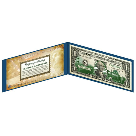 CALIFORNIA State $1 Bill *Genuine Legal Tender* U.S. One-Dollar Currency *Green* ()