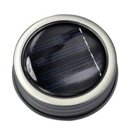 Solar Mason Jar Cover Light Creative LED Bottle Cap Solar String Light without Bottle 3.28ft - Warm White ()