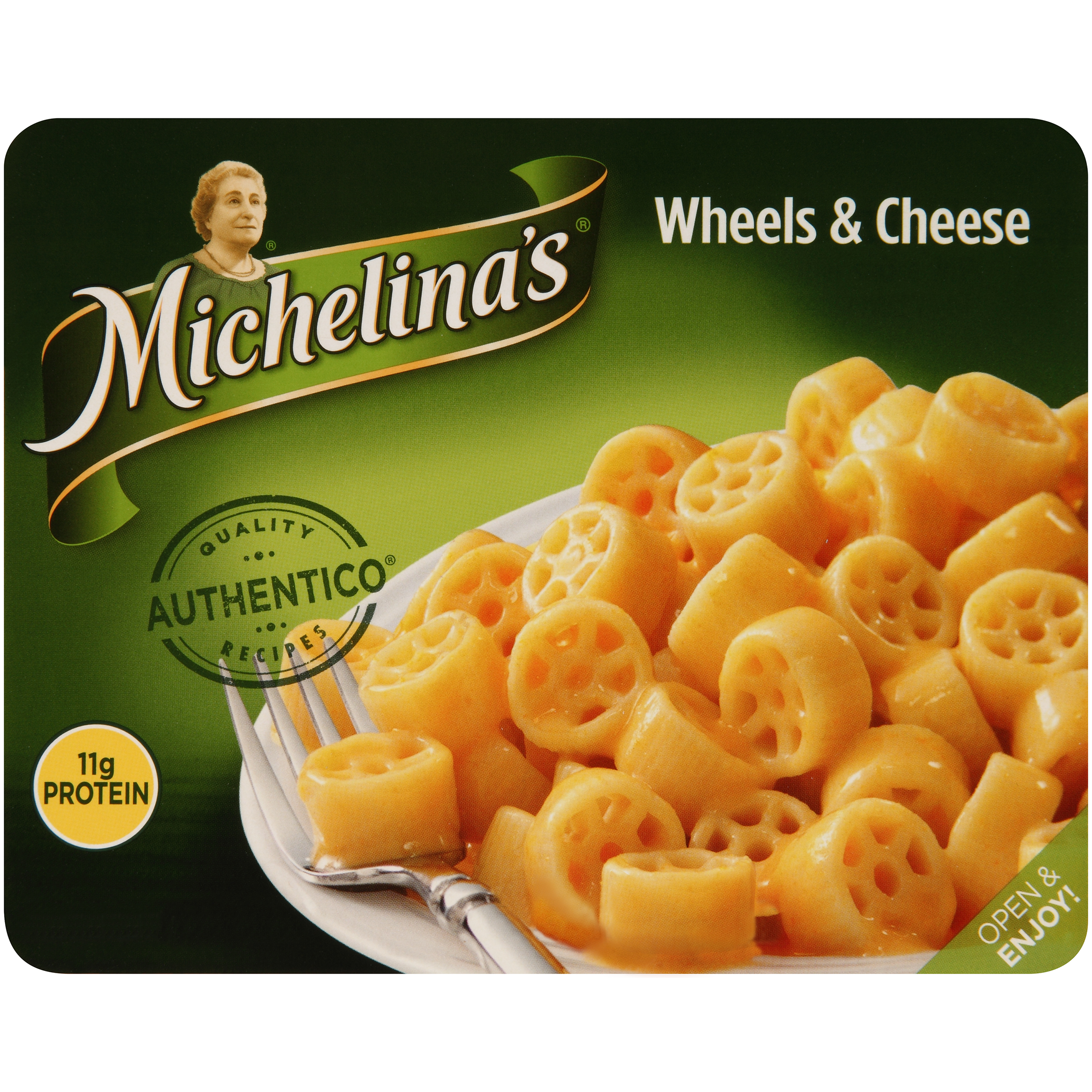 Michelina's�� Authentico�� Wheels & Cheese 8 oz. Tray
