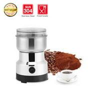 Electric Stainless Steel Coffee Bean Grinder Nut Spice Grinding Blender