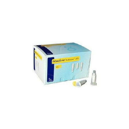 Novofine Autocover Pen Needle 30G X 8 Mm 100 Count Part No  185275 Qty  Per Box