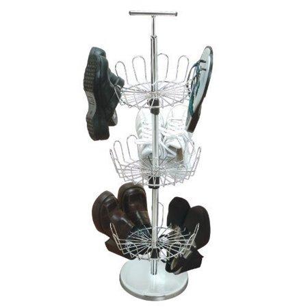 Revolving Shoe Tree (Revolving Shoe Organizer)