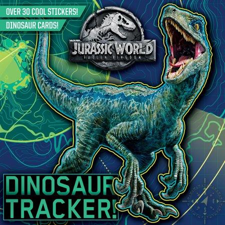 Dinosaur Tracker! (Jurassic World: Fallen Kingdom) (Paperback)