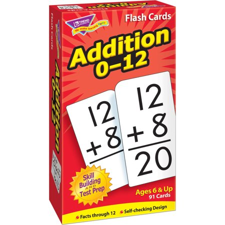 Trend, TEPT53101, Math Flash Cards, 1 / Box