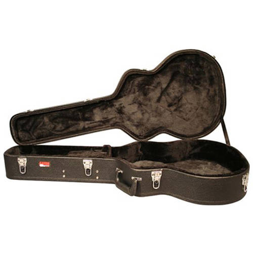 Gator Deluxe Laminated Wood Case for Jumbo Acoustic Guitars