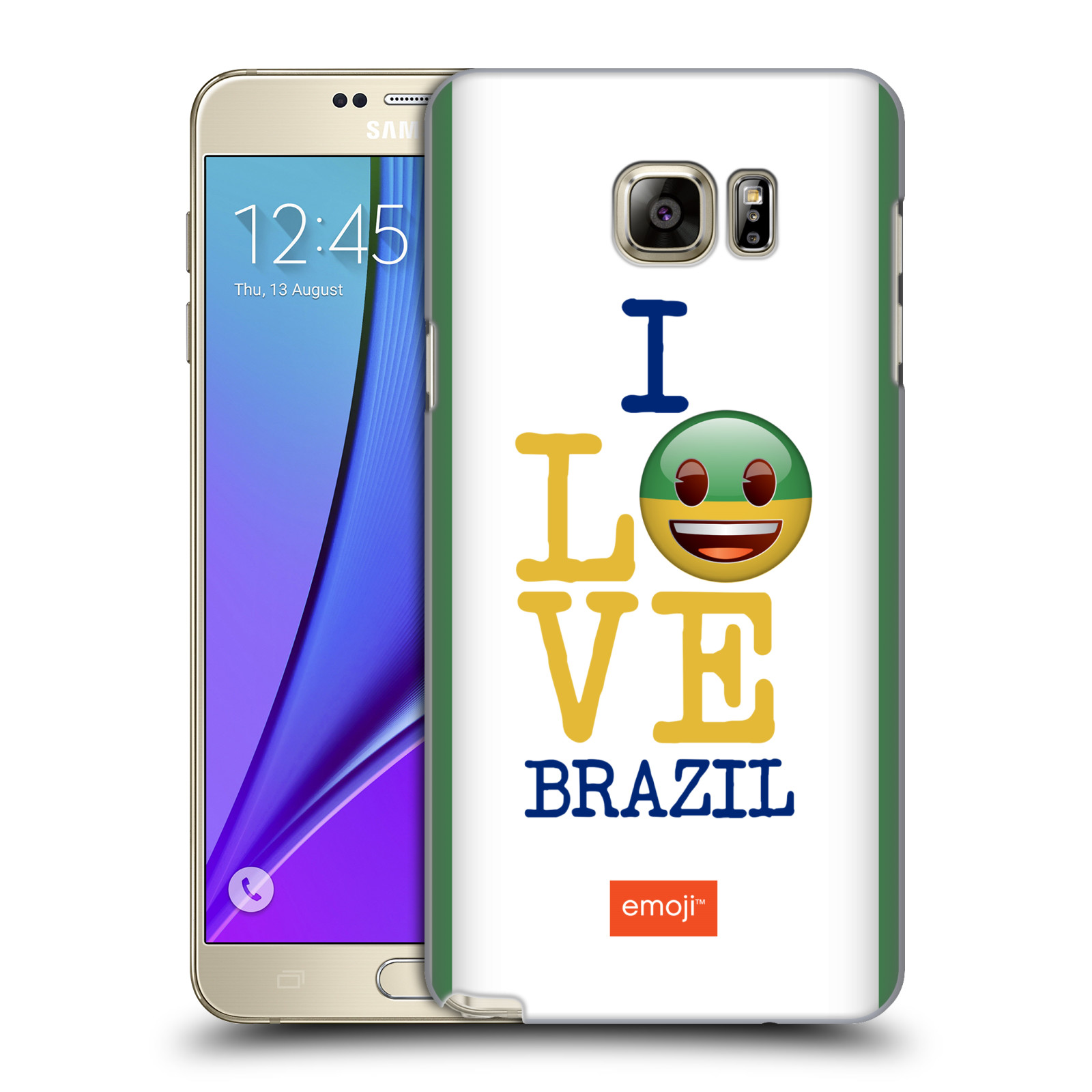 OFFICIAL EMOJI I LOVE MY COUNTRY HARD BACK CASE FOR SAMSUNG PHONES 1