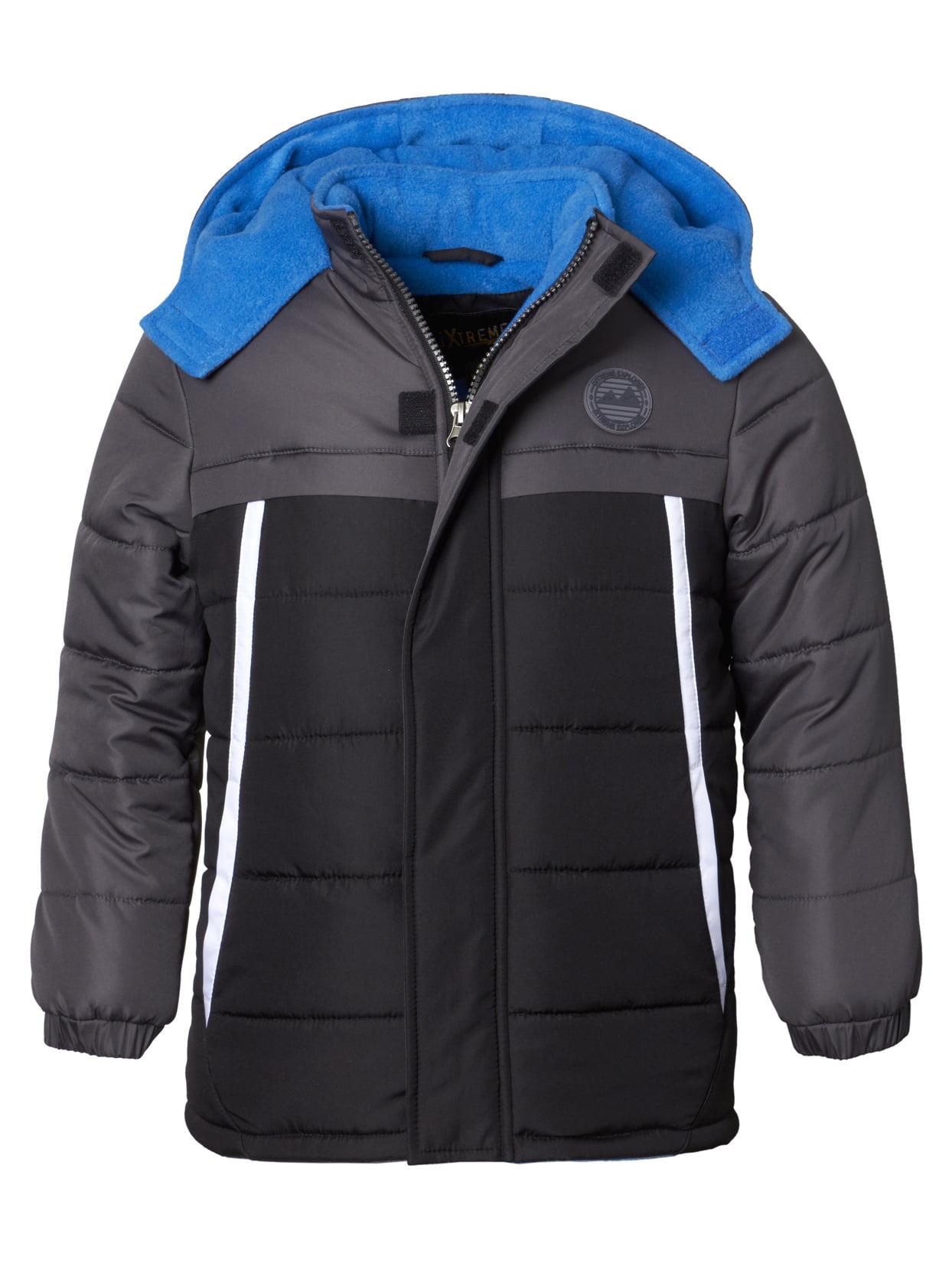 iXtreme Color Block Puffer Jacket (Big Boy)