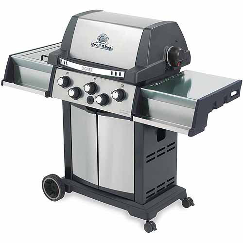 Broil King Grill Pro Black and Stainless Steel Signet 70 Barbecue Grill