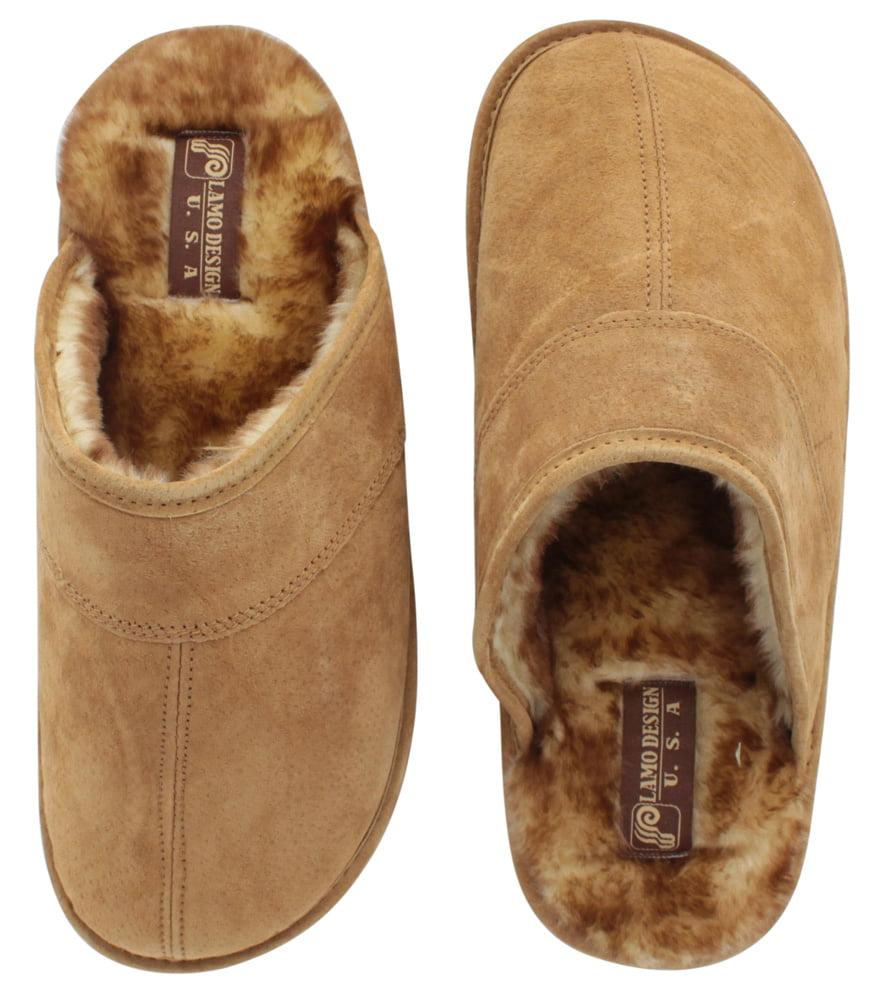 06acee5ca90 Lamo - Lamo Sheepskin Scuff Men's Slippers Slip On Shoes Faux ...