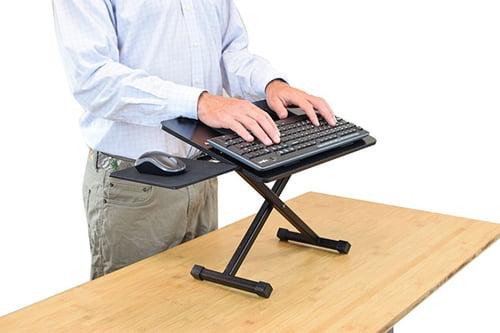 10/' Camping Folding Table Trade Exhibition Display Counter Adjustable Platform