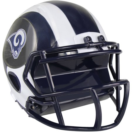 Forever Collectibles NFL Mini Helmet Bank, Los Angeles Rams (Louis Rams Mini Helmet)