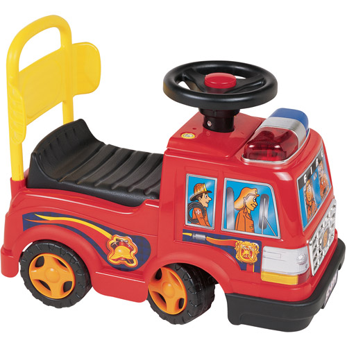 New Star Foot-to-Floor Fire Engine