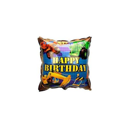 Construction Balloon (each) - Party - Mylar Streamers