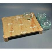Macabim- Jerusalem Stone Seder Plate