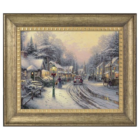 Thomas Kinkade Village Christmas - 16