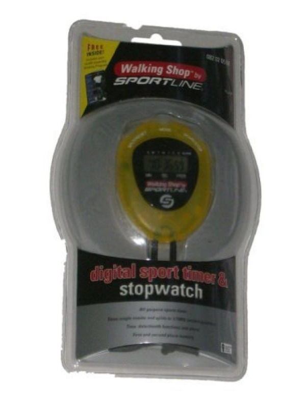 Sportline Digital Sport Timer and Stopwatch All Purpose Stop Watch by