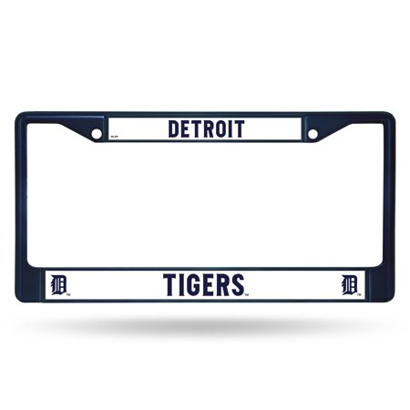 Rico Industries MLB Color License Plate Frame, Detroit Tigers