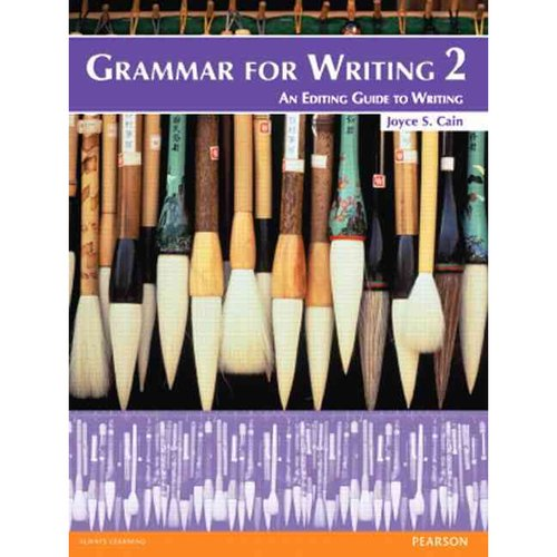 Grammar for Writing 2: An Editing Guide to Writing