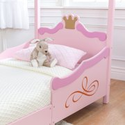 KidKraft Princess Toddler Bed Pink Image 5 Of 9