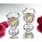 Studio Silversmith 43628 Set of 2 Small Hurricane Votives